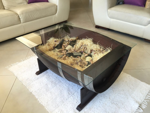 Beautiful Oak Wine Barrel Coffee Tables For Sale Junk Mail