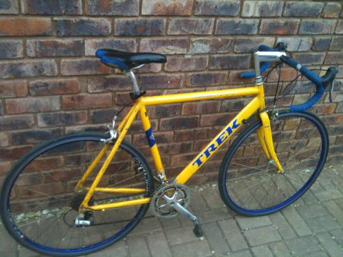 Trek racing bicycle