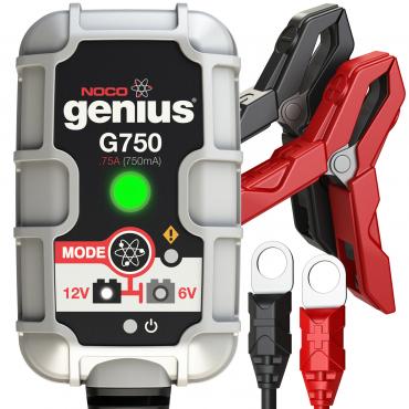 NOCO Genius G750 6V/12V .75A UltraSafe Smart Battery Charger - Maiden Electronics
