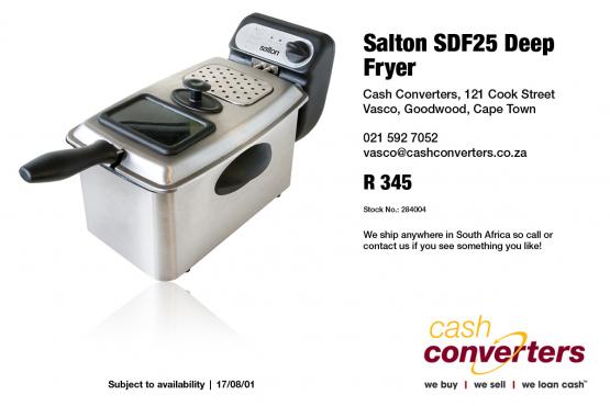 Salton SDF25 Deep Fryer