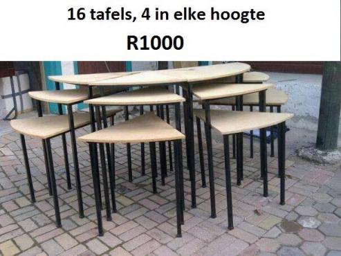 Tafels te koop