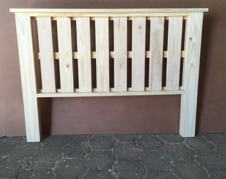 Headboard Farmhouse series Queen size Raw