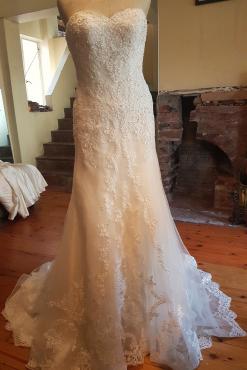 Beautiful Viola Chan Wedding Dress For Sale Never Been Worn
