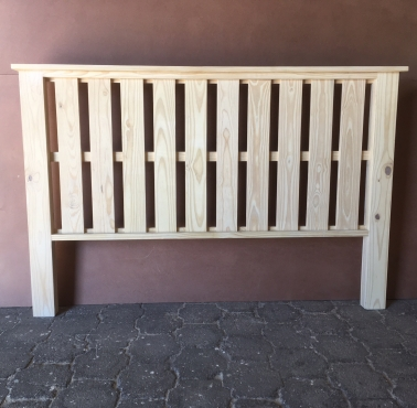 Headboard Farmhouse series King size Raw