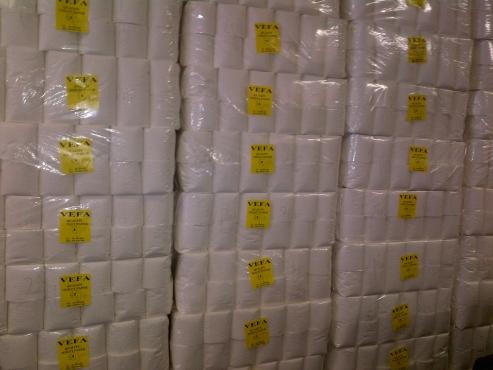 Vefa Quality Soft Toilet paper R94 a bale