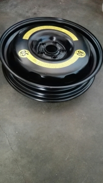 Golf Gti spare rim for biscuit tyre