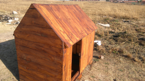 Big new dog kennels for sale