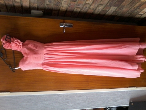 Orange/Peach Bridesmaid Dress