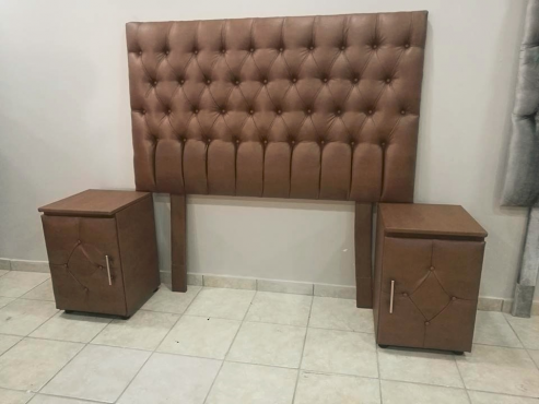 HEADBOARD AND PEDESTALS COMBO SALE!!!!!!