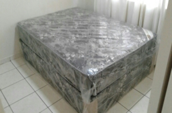 Prince double bed base and mattress