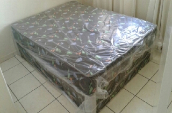 Double bed base and mattress New