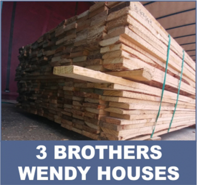 We sell wood & brick