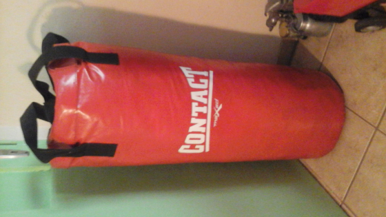 Punching bag.