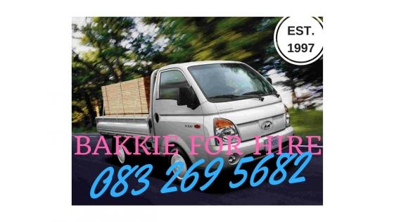 Bakkie For Hire