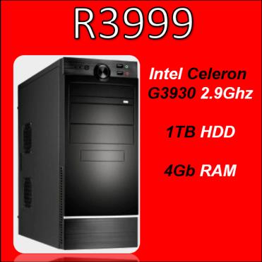 Custom Built Budget Celeron PC