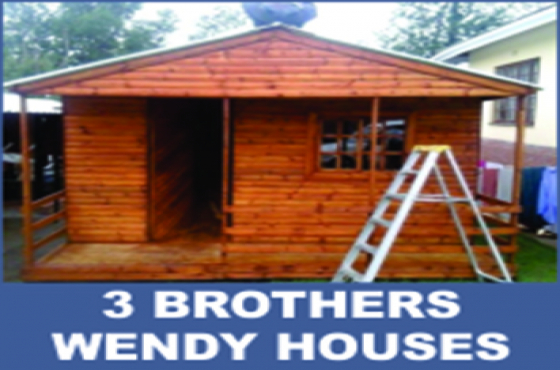 3x3 Wendy houses