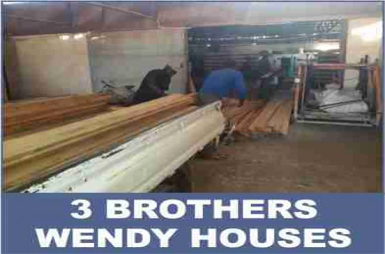 Wendy houses hardware i.e nails, plant, wood-dye, paint brushes, etc...