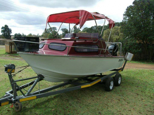 15ft Jurgens craft cabin cruiser