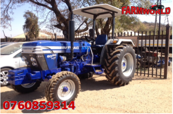 Blue Farmtrac 6060 4X2 New Tractor