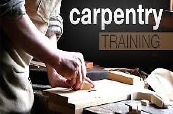CARPENTRY,ELECTRICIAN,PLUMBING TRAINING CALL 0727397991