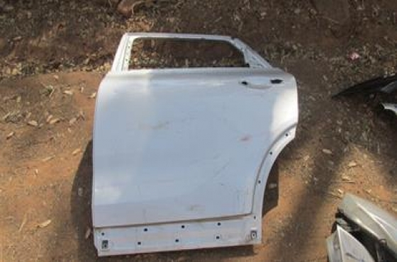 2016 Kia Sportage Left Rear Door Shell Silver For Sale