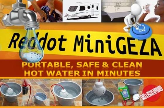 Minigeza brand new R390