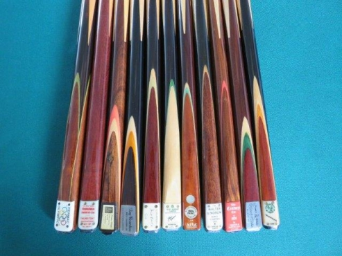premium quality rare snooker and pool cues