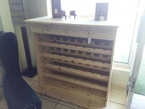 100% pine Wine Rack