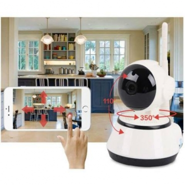 Indoor HD Wireless Network IP Alarm Camera With Mobile Viewing # Bargain