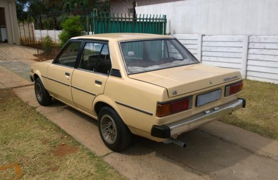 1981 Toyota Corolla Box Shape For