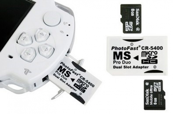 Psp Memory Card Adapters & Includes FREE CASE