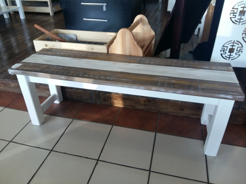 Custom Pine Bench -