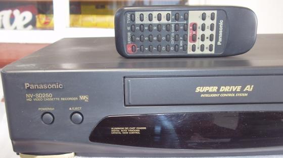 Panasonic Video machine with remote