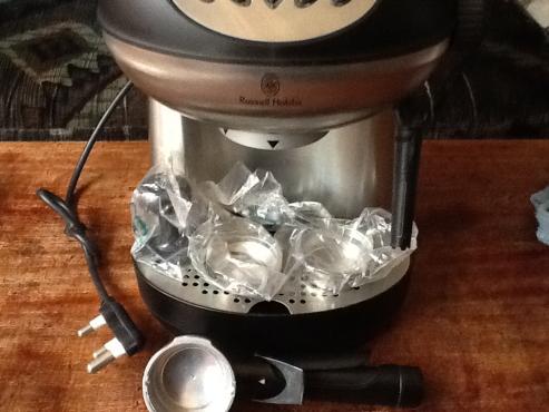 Rassell Hobbs coffee machine