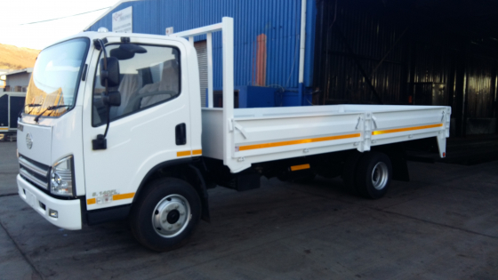 SPECIAL! Brand New FAW 5 Ton Dropside Truck Complete Incl FREE 60000Km/1 Year Service Plan