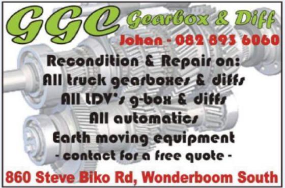 GGC Gearbox & Diff