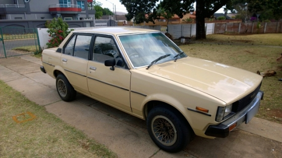 1981 Toyota Corolla  Box Shape  For Sale