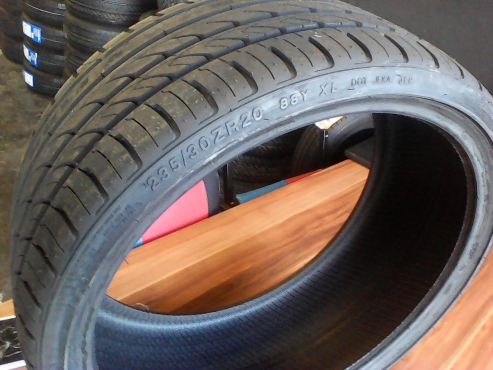 235/30/20 new tyres only R1750 each!