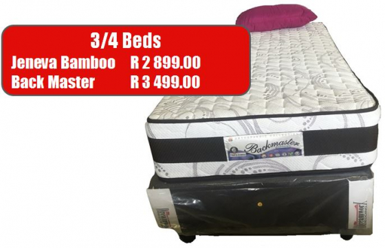 High quality beds for sale at a factory price all over Gauteng.