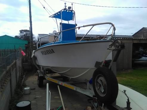 Country craft. 4,96m 2/60hp yamaha