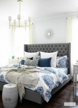 Farrah Bed from Chivalry Designs