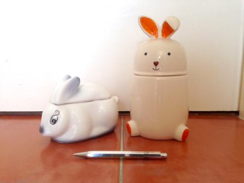 Bunny Cookie Jars