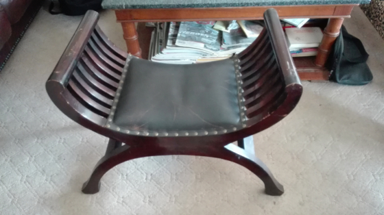 Wooden seat R450.00