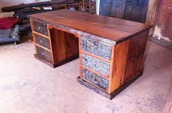 Railway Sleeper Desk