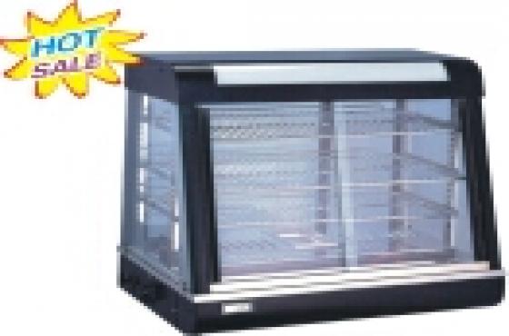 BRAND NEW 660MM SLANT GLASS FOOD WARMERS