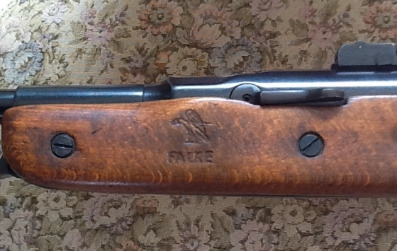 Falke 80 air rifle...177