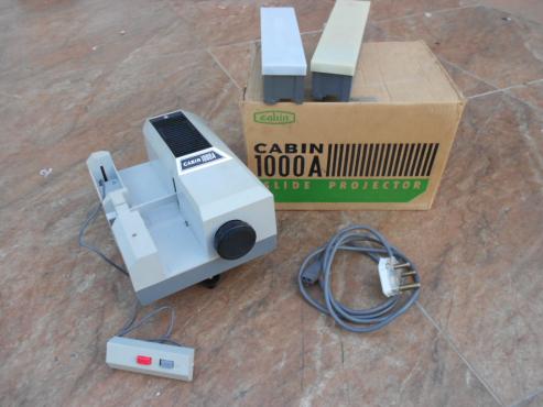 Cabin 35mm slide projector