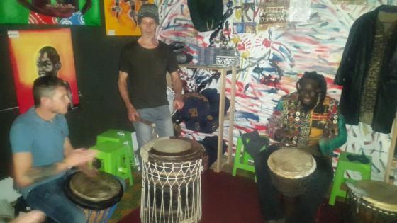 Djembe Drum lessons, workshops, facilitation, events & drums for sale