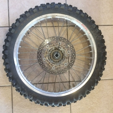 Yamaha YZ450F (2003-2005) Front Wheel, complete with Brake Disc and Tyre
