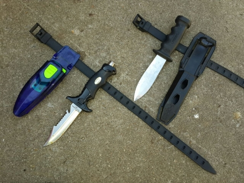 Diving Knives - Set (2)